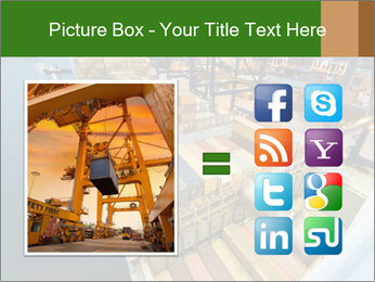 Containers For Shipping PowerPoint Template - Slide 21