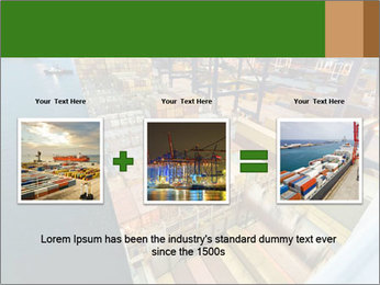 Containers For Shipping PowerPoint Template - Slide 22