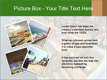 Containers For Shipping PowerPoint Template - Slide 23