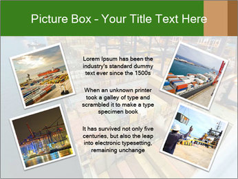 Containers For Shipping PowerPoint Template - Slide 24