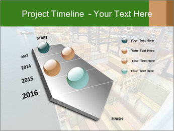 Containers For Shipping PowerPoint Template - Slide 26