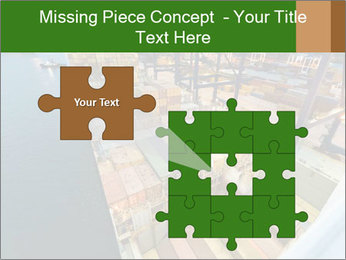 Containers For Shipping PowerPoint Template - Slide 45