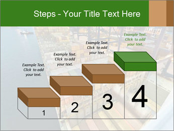 Containers For Shipping PowerPoint Template - Slide 64