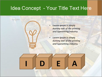 Containers For Shipping PowerPoint Template - Slide 80