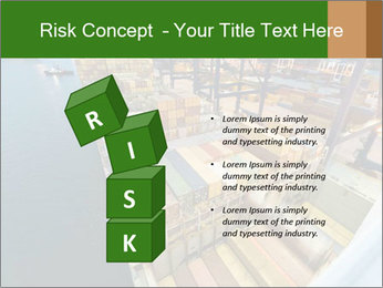Containers For Shipping PowerPoint Template - Slide 81
