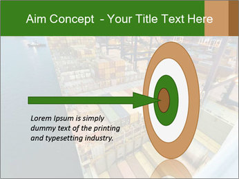 Containers For Shipping PowerPoint Template - Slide 83