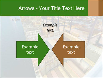Containers For Shipping PowerPoint Template - Slide 90