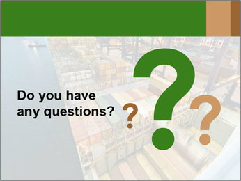 Containers For Shipping PowerPoint Template - Slide 96
