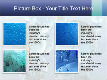 Trees In Water Drops PowerPoint Template - Slide 14