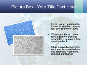 Trees In Water Drops PowerPoint Template - Slide 20