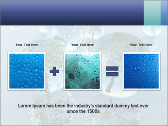Trees In Water Drops PowerPoint Template - Slide 22