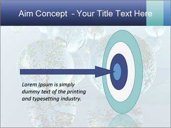 Trees In Water Drops PowerPoint Template - Slide 83