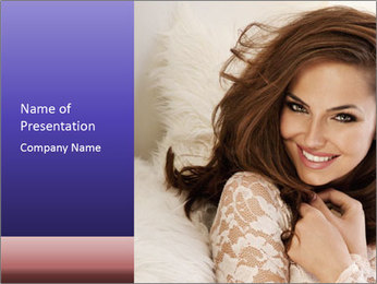Female Sensuality PowerPoint Template
