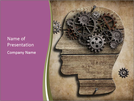 Brain Mechanism PowerPoint Templates