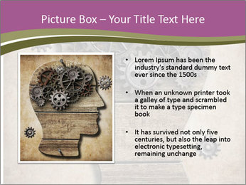 Brain Mechanism PowerPoint Templates - Slide 13