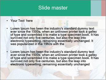 Man In Hospital PowerPoint Templates - Slide 2