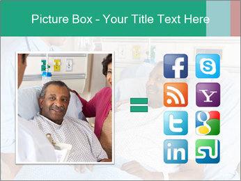 Man In Hospital PowerPoint Templates - Slide 21