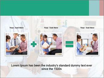 Man In Hospital PowerPoint Templates - Slide 22