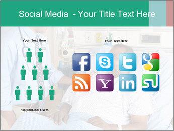 Man In Hospital PowerPoint Templates - Slide 5