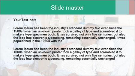 Man In Hospital PowerPoint Template - Slide 2