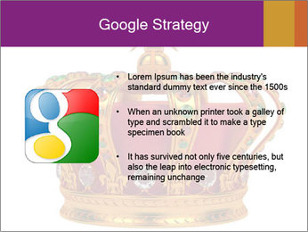 Crown With Gemstones PowerPoint Templates - Slide 10