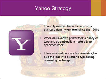 Crown With Gemstones PowerPoint Templates - Slide 11