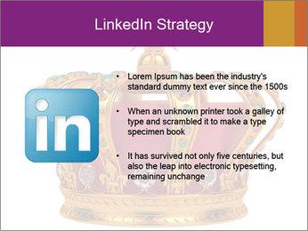 Crown With Gemstones PowerPoint Templates - Slide 12