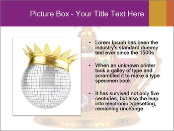 Crown With Gemstones PowerPoint Templates - Slide 13