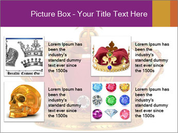 Crown With Gemstones PowerPoint Templates - Slide 14