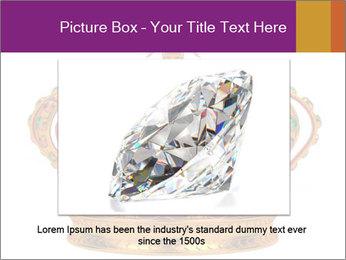 Crown With Gemstones PowerPoint Templates - Slide 16