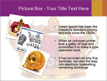 Crown With Gemstones PowerPoint Templates - Slide 17