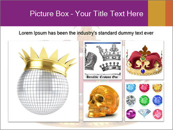 Crown With Gemstones PowerPoint Templates - Slide 19