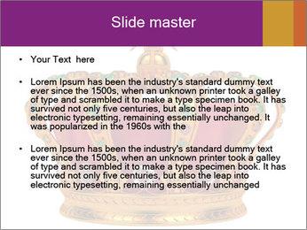 Crown With Gemstones PowerPoint Templates - Slide 2