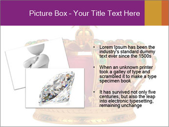 Crown With Gemstones PowerPoint Templates - Slide 20