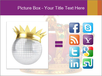 Crown With Gemstones PowerPoint Templates - Slide 21