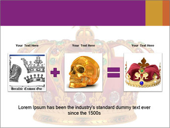 Crown With Gemstones PowerPoint Templates - Slide 22