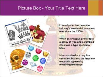 Crown With Gemstones PowerPoint Templates - Slide 23