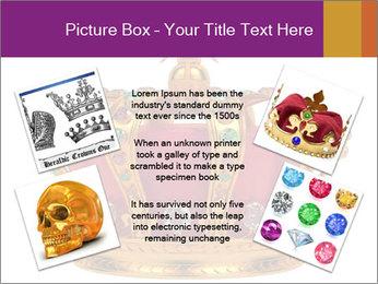 Crown With Gemstones PowerPoint Templates - Slide 24