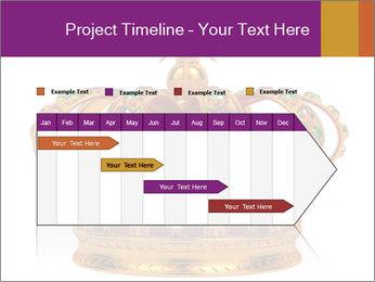 Crown With Gemstones PowerPoint Templates - Slide 25