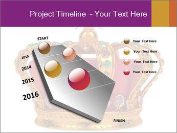 Crown With Gemstones PowerPoint Templates - Slide 26