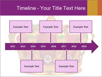 Crown With Gemstones PowerPoint Templates - Slide 28