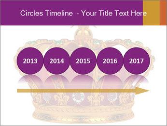Crown With Gemstones PowerPoint Templates - Slide 29
