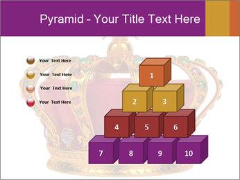 Crown With Gemstones PowerPoint Templates - Slide 31