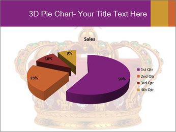 Crown With Gemstones PowerPoint Templates - Slide 35