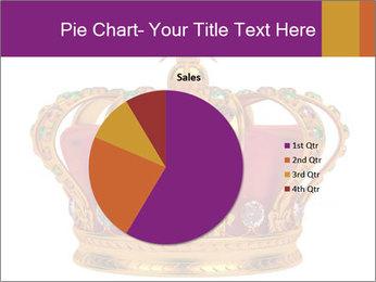 Crown With Gemstones PowerPoint Templates - Slide 36