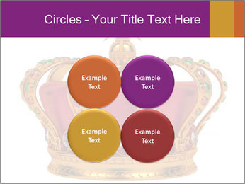 Crown With Gemstones PowerPoint Templates - Slide 38