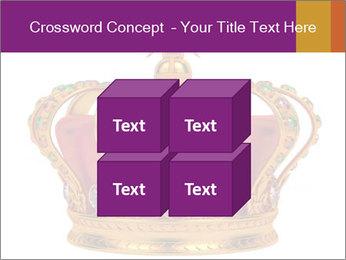 Crown With Gemstones PowerPoint Templates - Slide 39