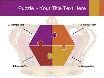 Crown With Gemstones PowerPoint Templates - Slide 40