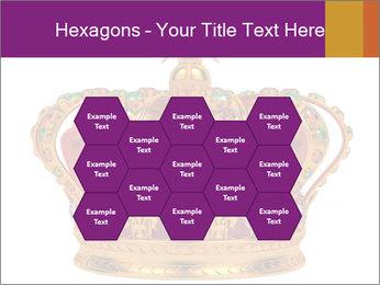 Crown With Gemstones PowerPoint Templates - Slide 44