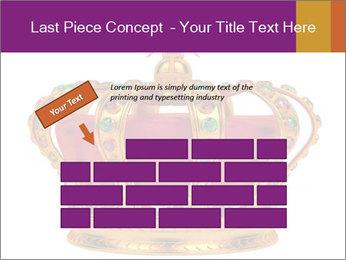 Crown With Gemstones PowerPoint Templates - Slide 46
